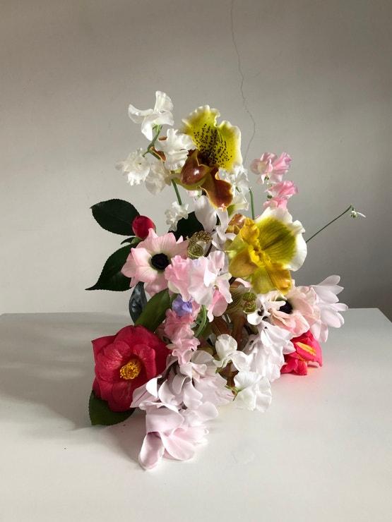 Valentýnská květina pro čtenáře Vogue CS.
